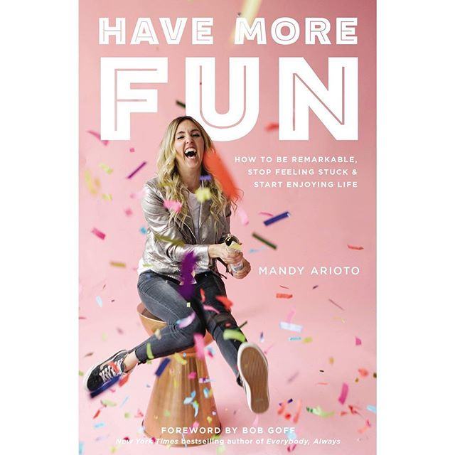 You guys... I am so excited about this book. Can't wait for you to get a copy. Pre-order it wherever books are sold. #havemorefun @bobgoff #newbook #preorder @mops_international #dontwait