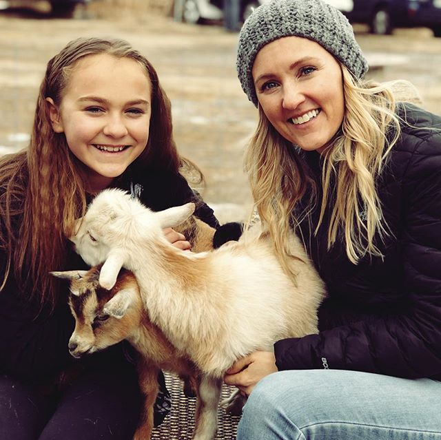 For my birthday this year the only thing I wanted was to visit a rescue barn so I could snuggle baby goats and cows. It is a freaking miracle that we did not come home with any additional animals. 😍🐮🐴 We are however, talking about pulling our kids out of school and selling everything we own to move to a farm in the middle of no where so that we can be surrounded by furry creatures, because we do not make impulsive decisions.