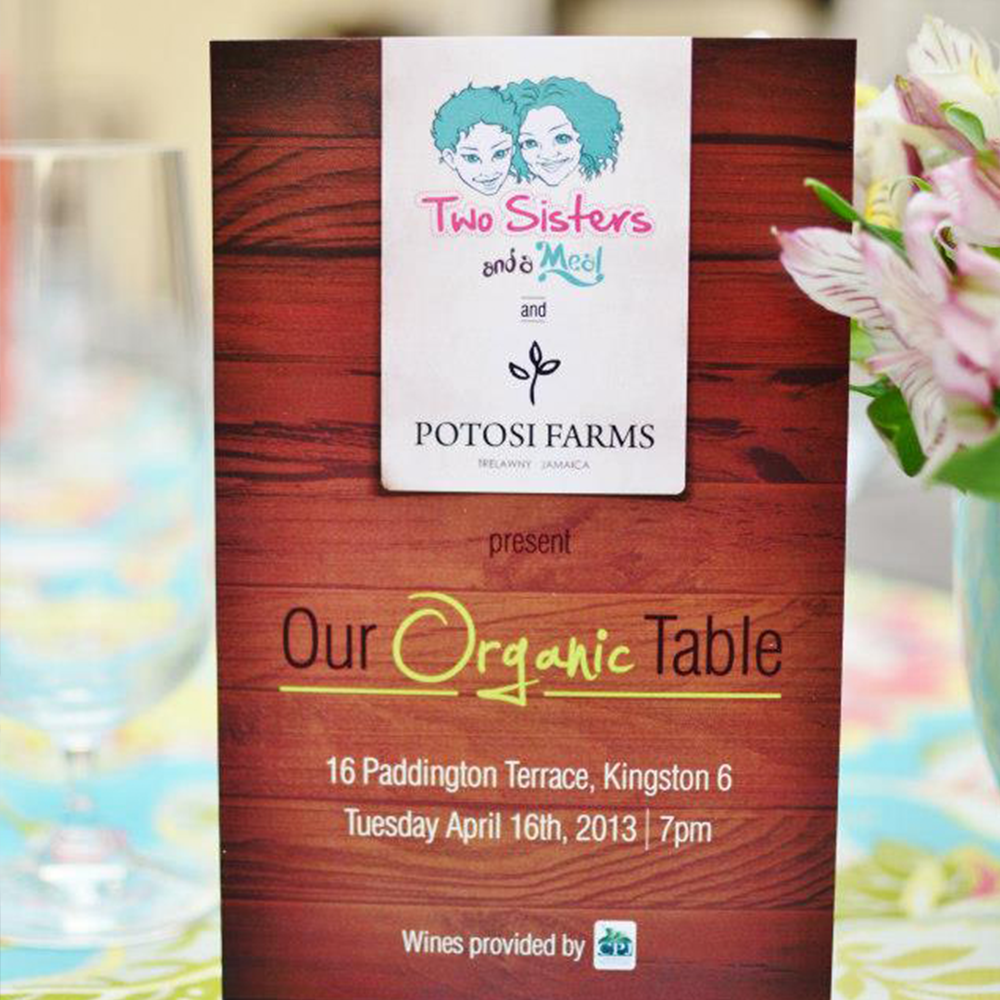 Our Organic Table  2013