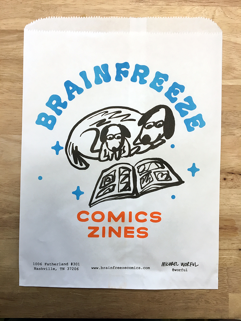 Brainfreeze Bag #002 / Michael Worful