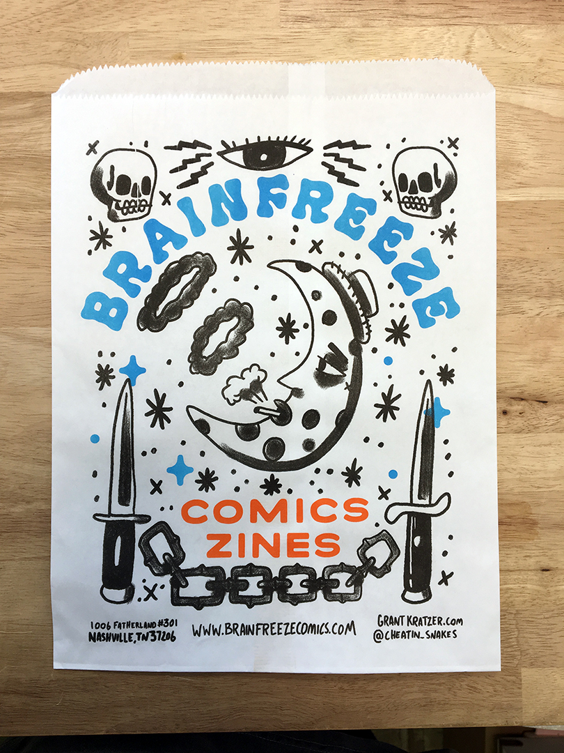 Brainfreeze Bag #001 / Grant Kratzer