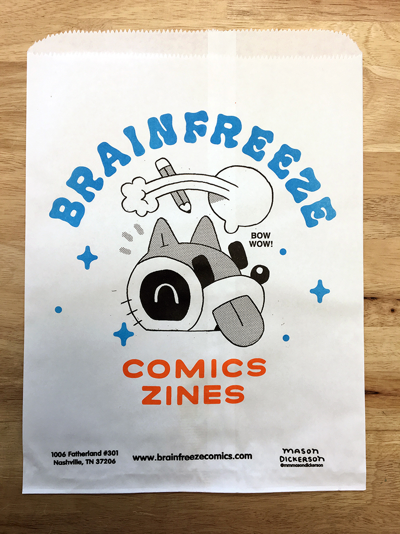 Brainfreeze Bag #003 / Mason Dickerson