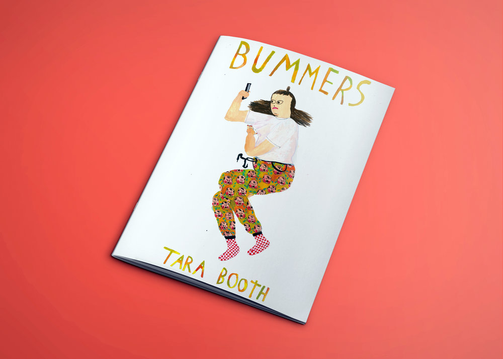 BUMMERS by Tara Booth, the first publication from BRAINFREEZE