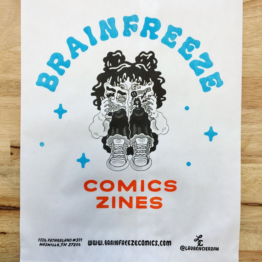 Brainfreeze Bag #004 / Lauren Cieazan