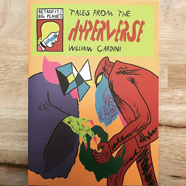 TALES FROM THE HYPERVERSE by William Cardini // Now in stock!! // #brainfreezecomics #brainfreezenashville