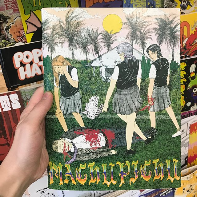 MACHUPICHU // These kick-ass zines we're hand-delivered to us all the way from Mexico // #brainfreezecomics #brainfreezenashville