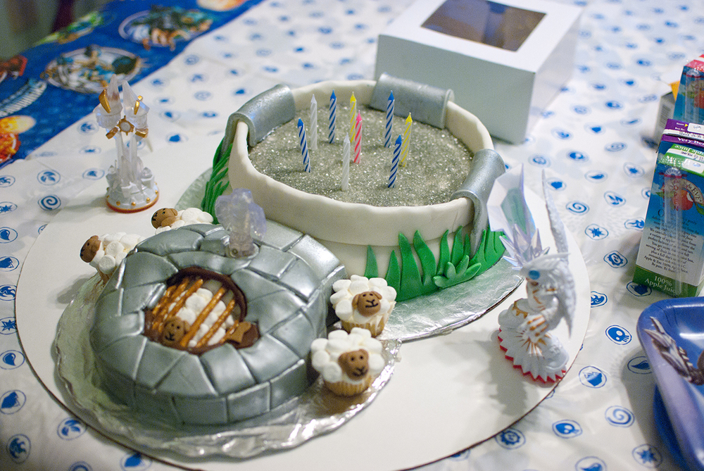 Skylander Burthday Cake