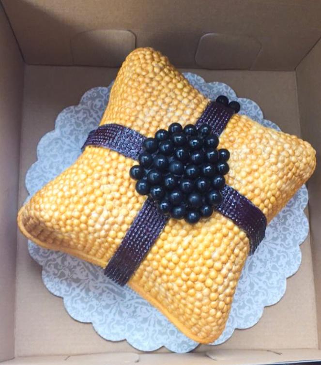 Jeweled Pillow Cake