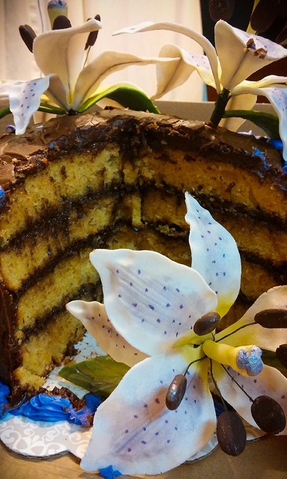 4 Layer Birthday Cake