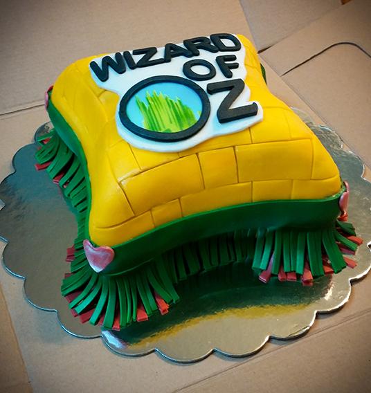 Wizard of Oz Pillow Carrot Cake