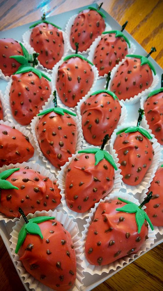 Strawberry Bursts
