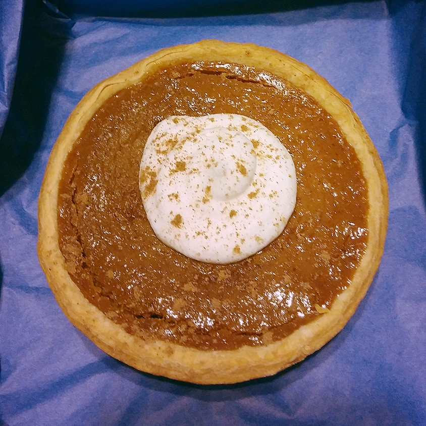 Pumpkin Spice Mini Pie