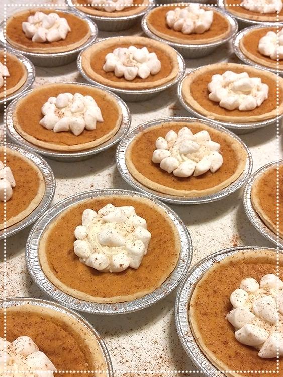 Sweet Potato Mini Pies