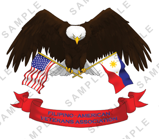 Logo design for the Filipino-American Veteran Association.