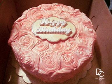 Rosette Carrot Cake