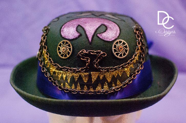 Steampunk Hats - Custom designed steampunk hats.