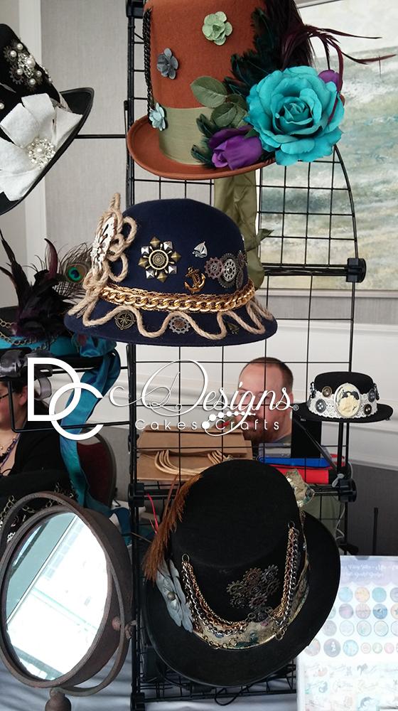 Hat display at Anime Mid-Atlantic.