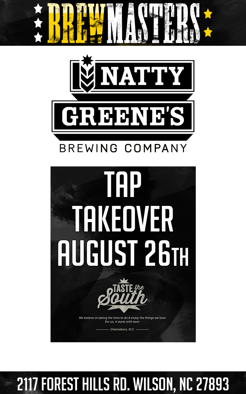 Natty Greene's Tap Takeover