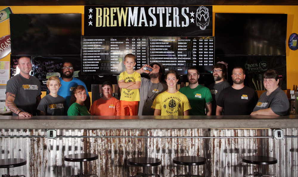 Brewmasters Team of Employees
