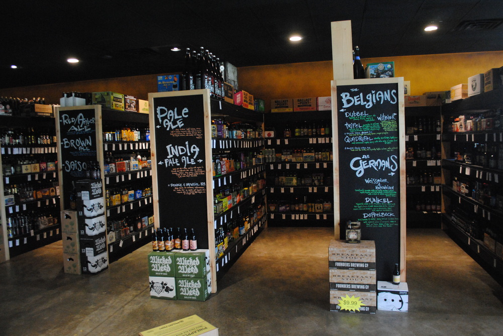 Craft beer fills the shelves of Brewmasters