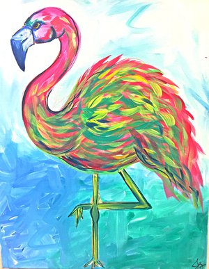 Brewmasters Nc Goldsboro Events Wine And Design Pink Flamingo