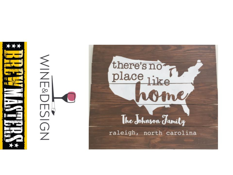 Brewmasters Nc Goldsboro Events Wine And Design No Place Like Home