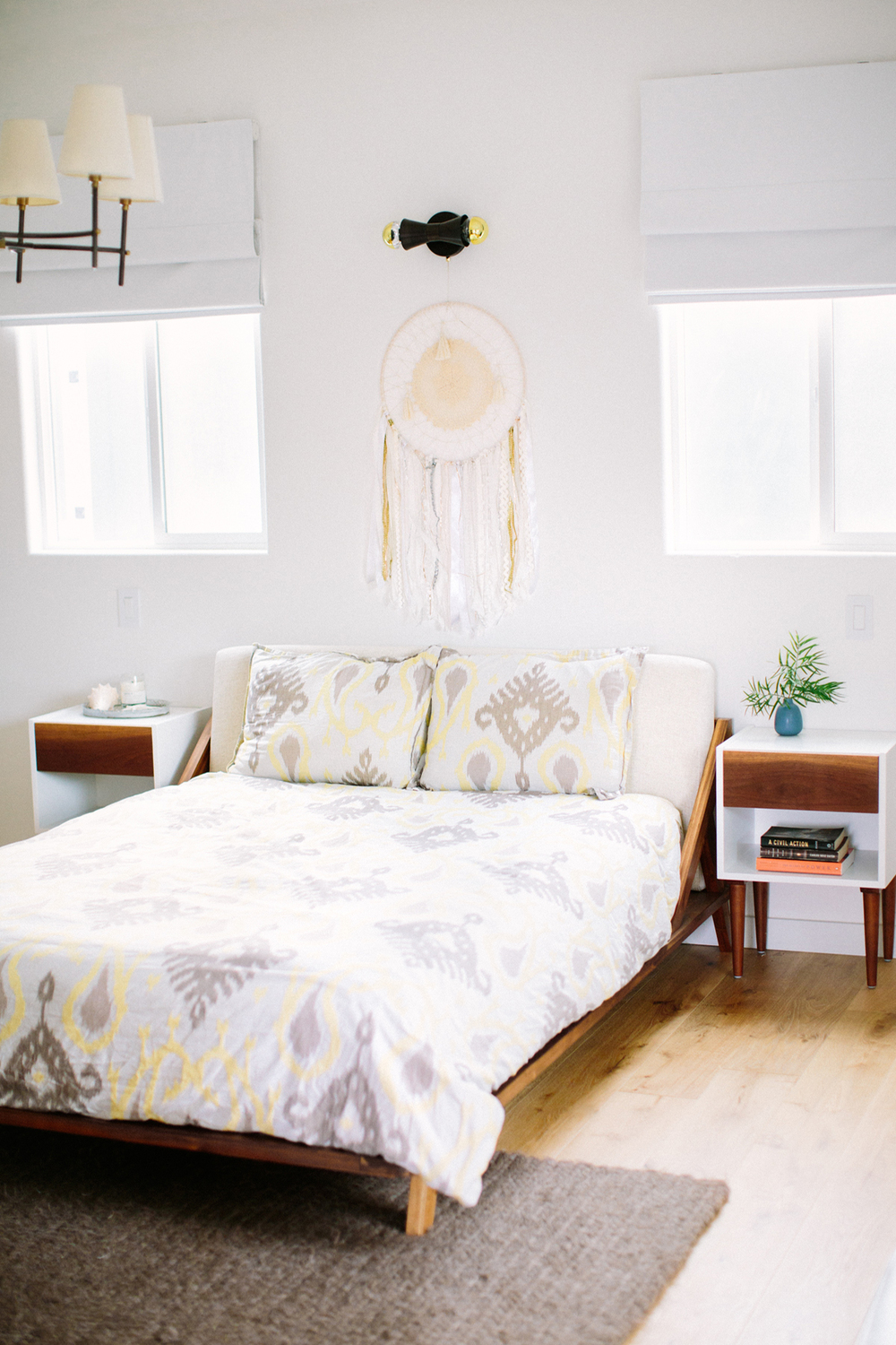 Bright & Light guest suite designed by Carly Waters Style
