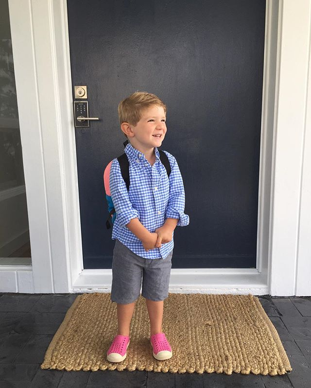 Obligatory first day of school pic !