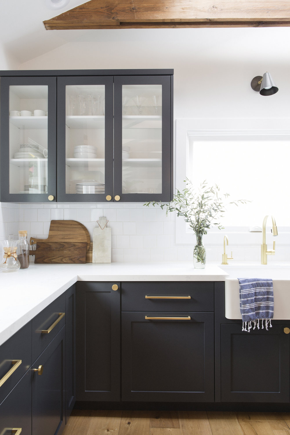 Modern kitchen styling decor design by Carly Waters Style
