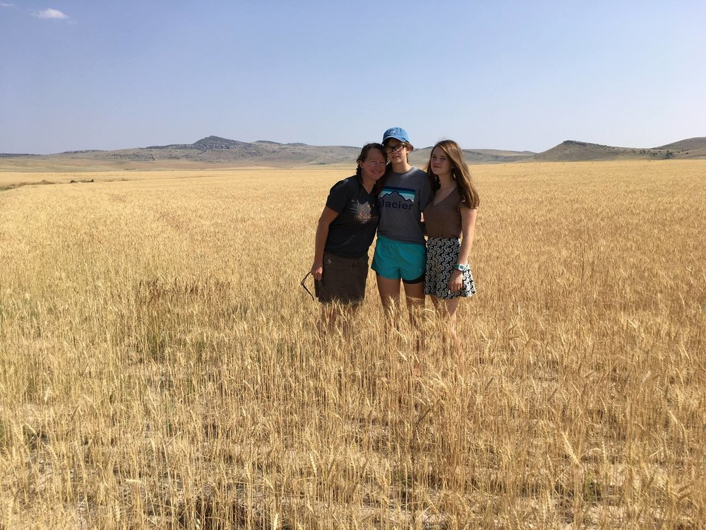 family trip to Montana