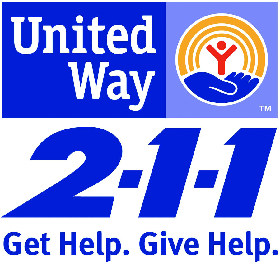 United Way 2-1-1 is a free, confidential, 24-hour information and referral service giving you access to resources in your community. Obtain information by dialing 2-1-1 or by searching the resource database. - CLICK IMAGE TO ACCESS DATABASE.