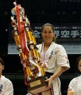 We are pleased to announce the World Champion of WKO Shinkyokushin Hungary,  Csenge Szepesi Womens Heavyweight 11th World Championship 2015 Champion All Kyokushin World Champion 2009 Shinkyokushin European Champion