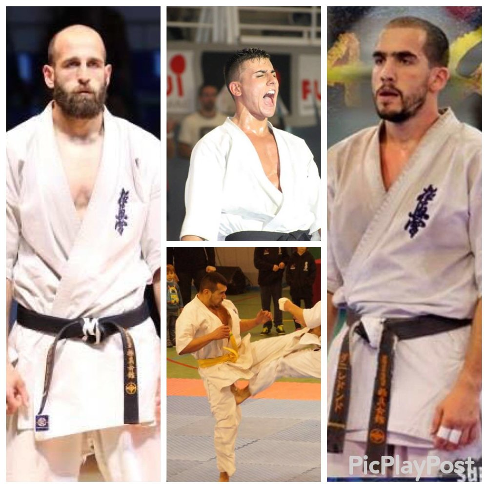 We welcome the Satori Team of Rengokai Spain to the Cup of Europe Dani Redondo Mens Lightweight World Champion Rengokai 2015 Jonathan Redondo Mens Middleweight Cup of Europe Champion 2014 Adrian Aguilera Mens Middlweight Spanish Champion