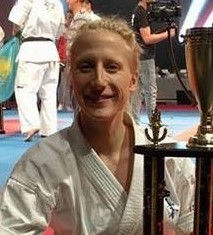 We welcome WKO Canada Shinkyokushin fighter Kimm Carriere to the Womens Lightweight category. Kimm is the two time Dageki Champion in 2015/16 and took 3rd place in the Diamond Cup 2016.