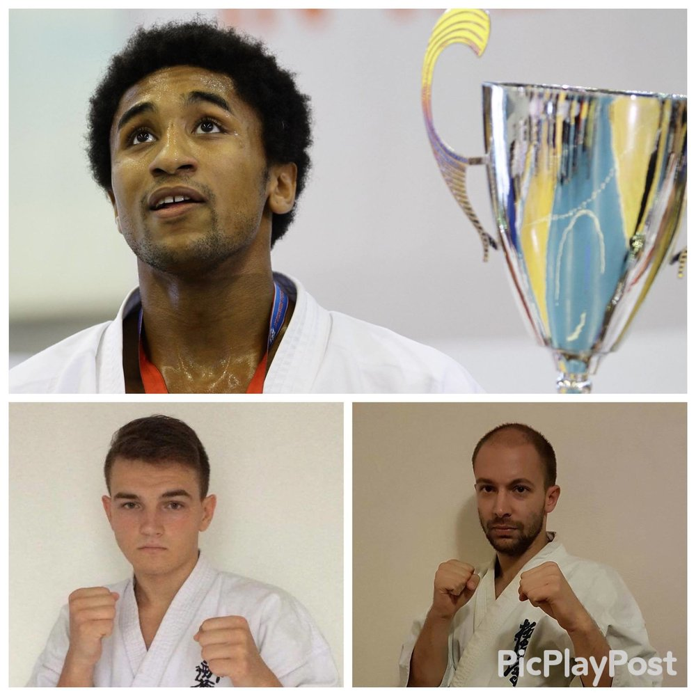 We are pleased to welcome the team of Paris 17 from WKO France Shinkyokushin  Jean-Paul Jacquot Mens Heavyweight KWU European Champion 2016 French Champion 2016 Oyama Cup Champion 2015  Matthias Guerin Mens Lightweight French Open 2016 3rd place Kamakura Cup 2015 2nd place Diamond Cup 2014 2nd place  Vitaly Saranchuk Mens Lightweight