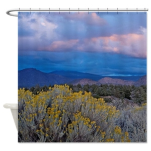 Shasta Sunset Shower Curtain  $59.99