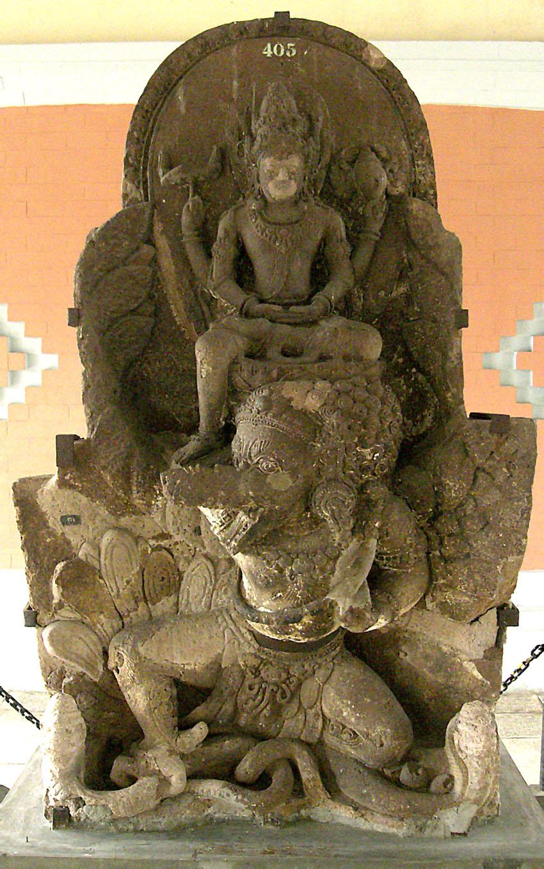 Stone Statue Depicting Airlangga