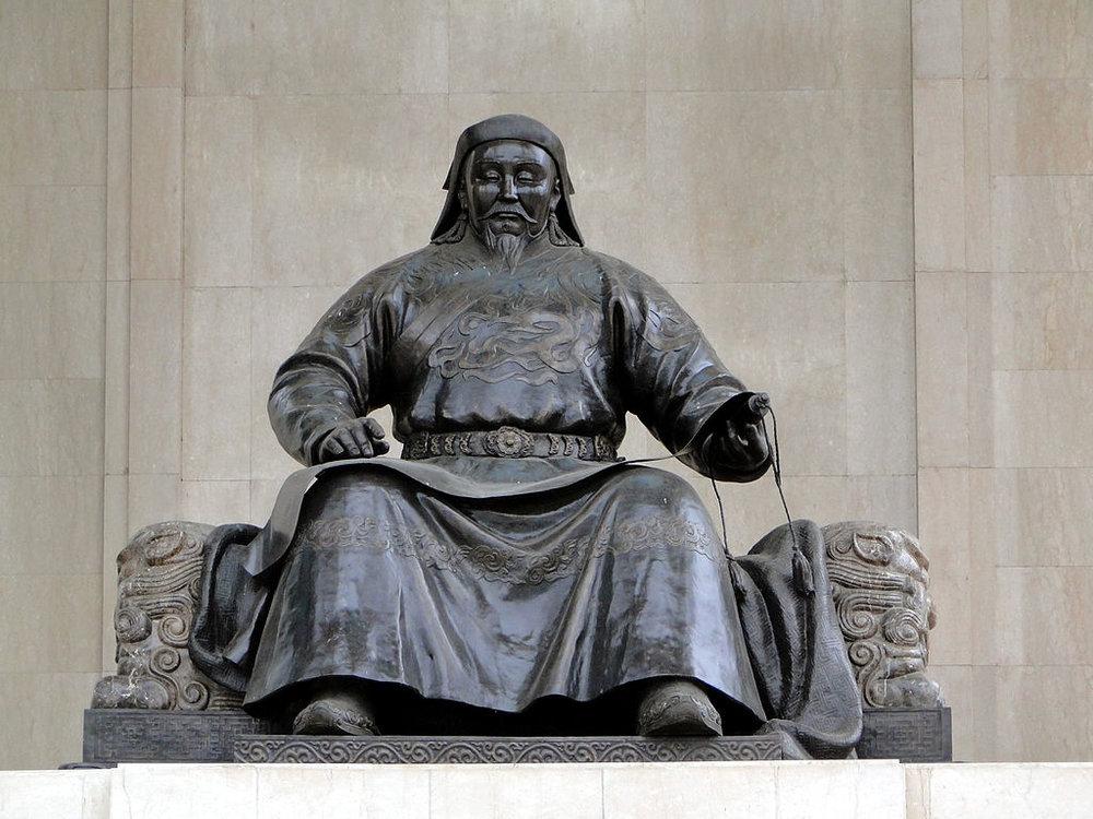 Statue of Kublai Khan