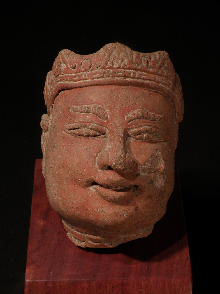 Terra-cotta Head of Gajah Mada