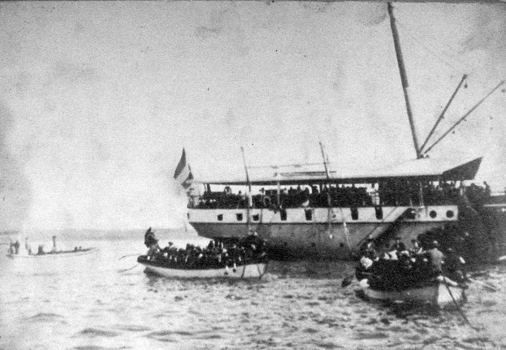 Dutch Troops Landing at Sanur