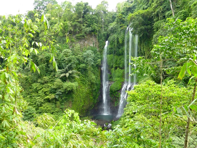 The Lemukih Waterfall near Singaraja
