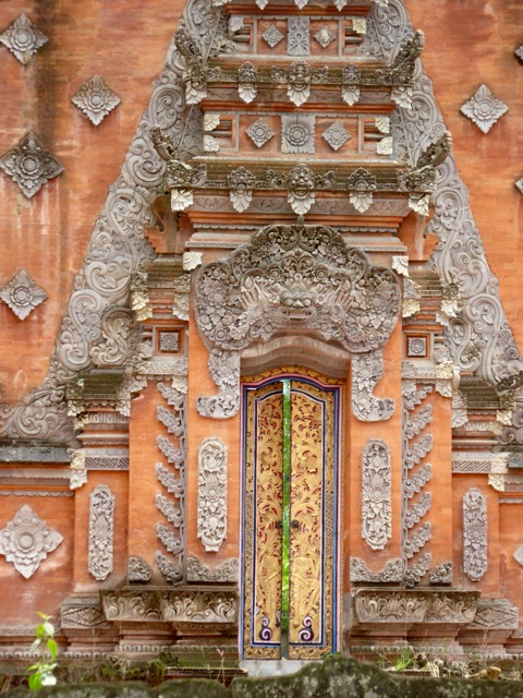Temple doorway in Ubud