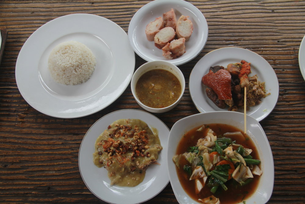 A Meal in Bali