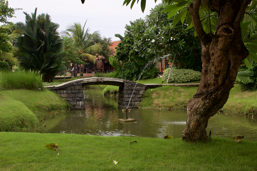 Bridge at Krisna Lovina