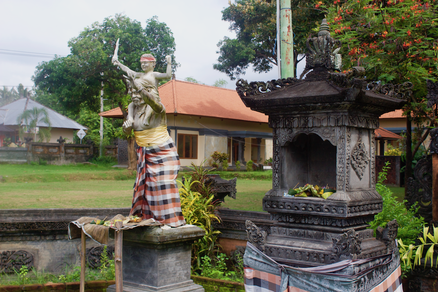 Statue at Shrine