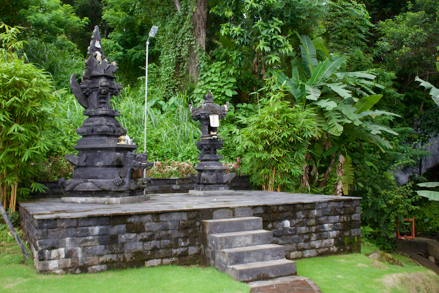 Shrine at Krisna Adventures