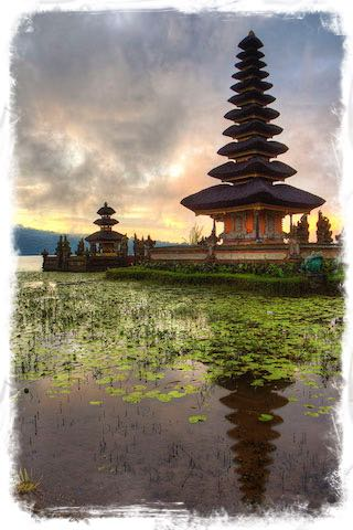 Ulun Temple on Lake Bratan