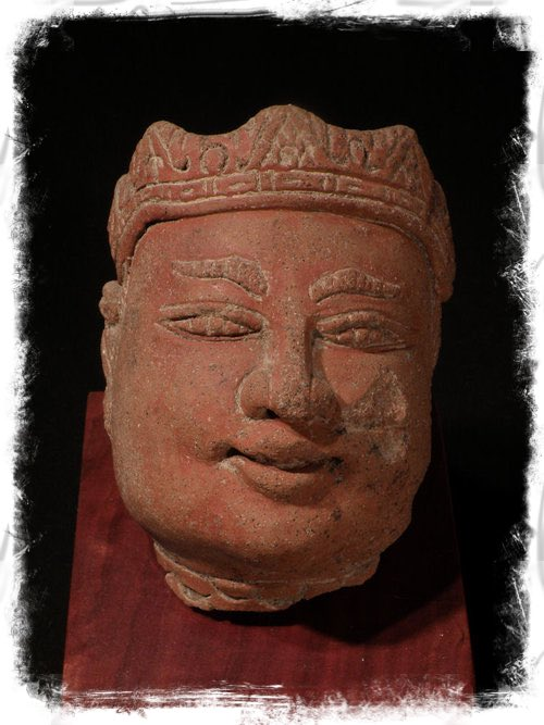 Terra-cotta Head of Gajah Mada