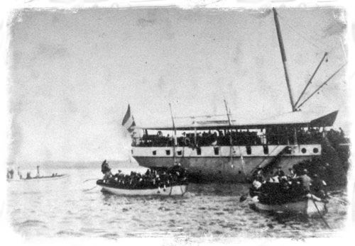 Dutch Troops Landing at Sanur