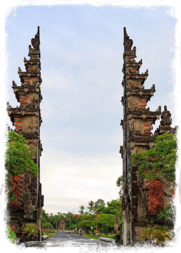 Nusa Dua Bali Gate